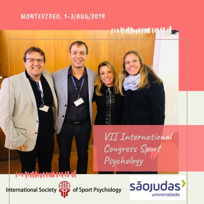 left to right: Franco Noce, Marcelo Zanetti, Regina Brandao and Lauren Loberg ISSP MC members (Franco Noce & Lauren Loberg) during the Ambassador Program in Uruguay